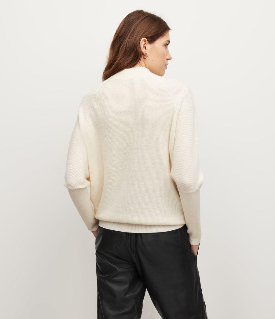 Women's Ridley Wool-Cashmere Blend Jumper (chalk_white) - Image 5