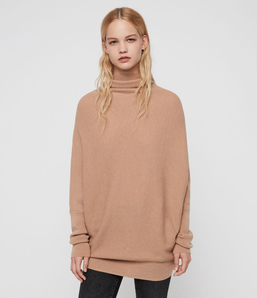 Womens Ridley Sweater (toffee_brown) - Image 4