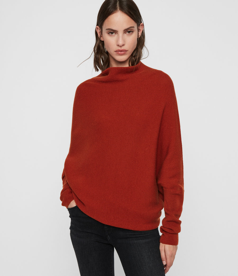 Womens Ridley Sweater (cinder_black_marl) - Image 1
