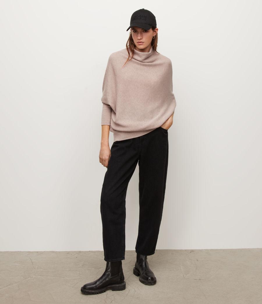 Women's Ridley Cashmere-Wool Blend Jumper (pashmina_pink) - Image 2