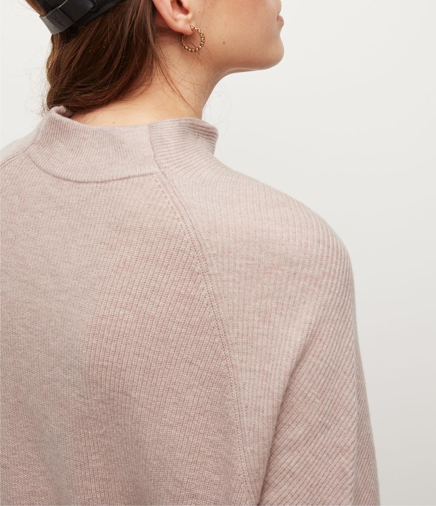 Women's Ridley Cashmere-Wool Blend Jumper (pashmina_pink) - Image 3