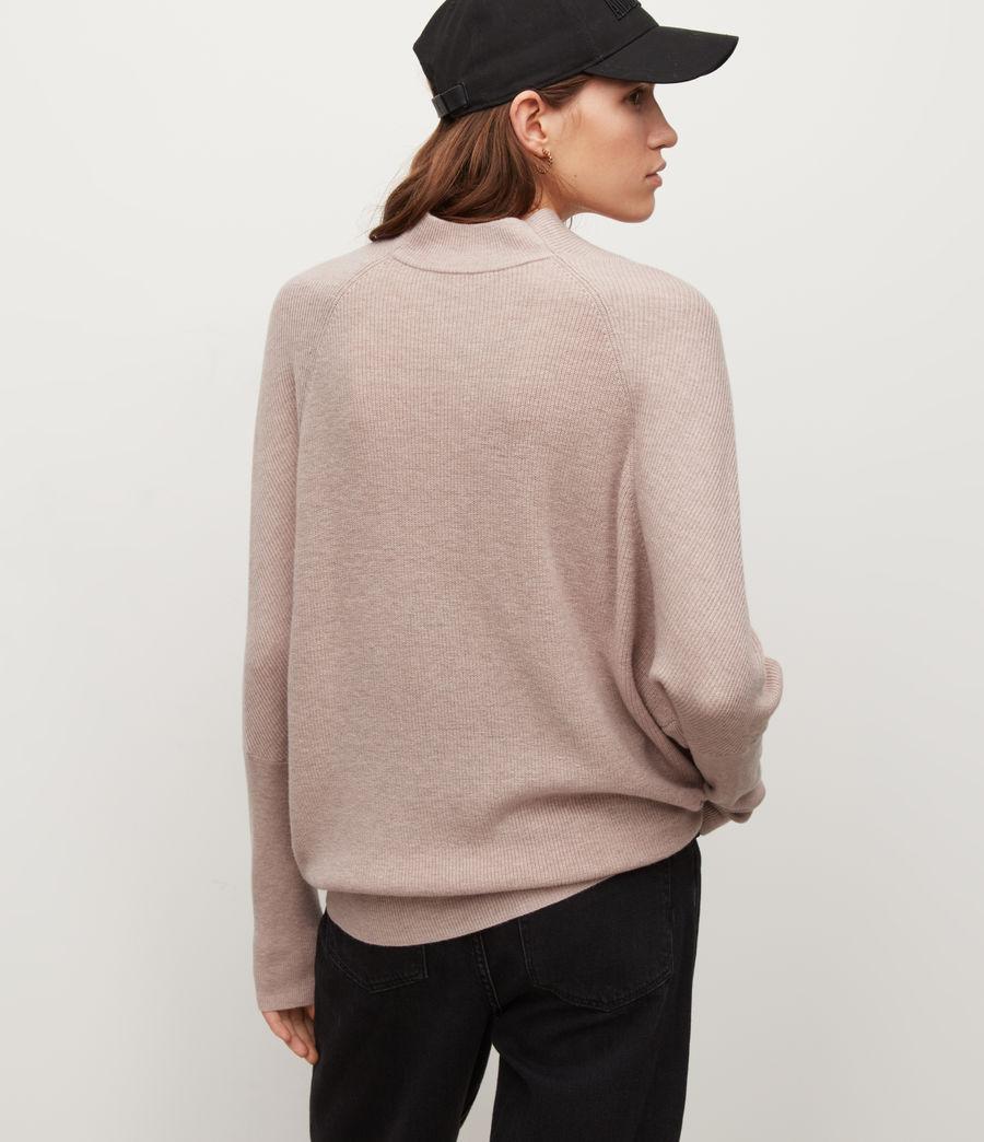 Women's Ridley Cashmere-Wool Blend Jumper (pashmina_pink) - Image 4
