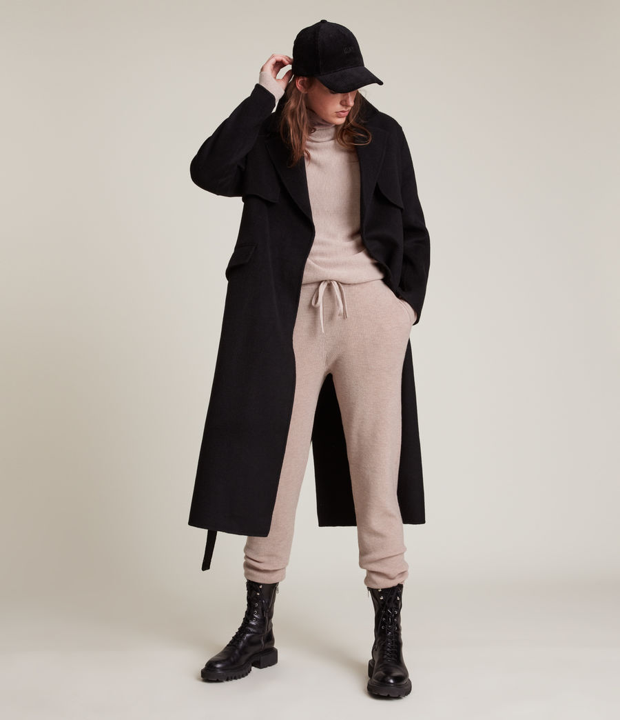 Women's Ridley Cashmere-Wool Blend Jumper (pashmina_pink) - Image 5