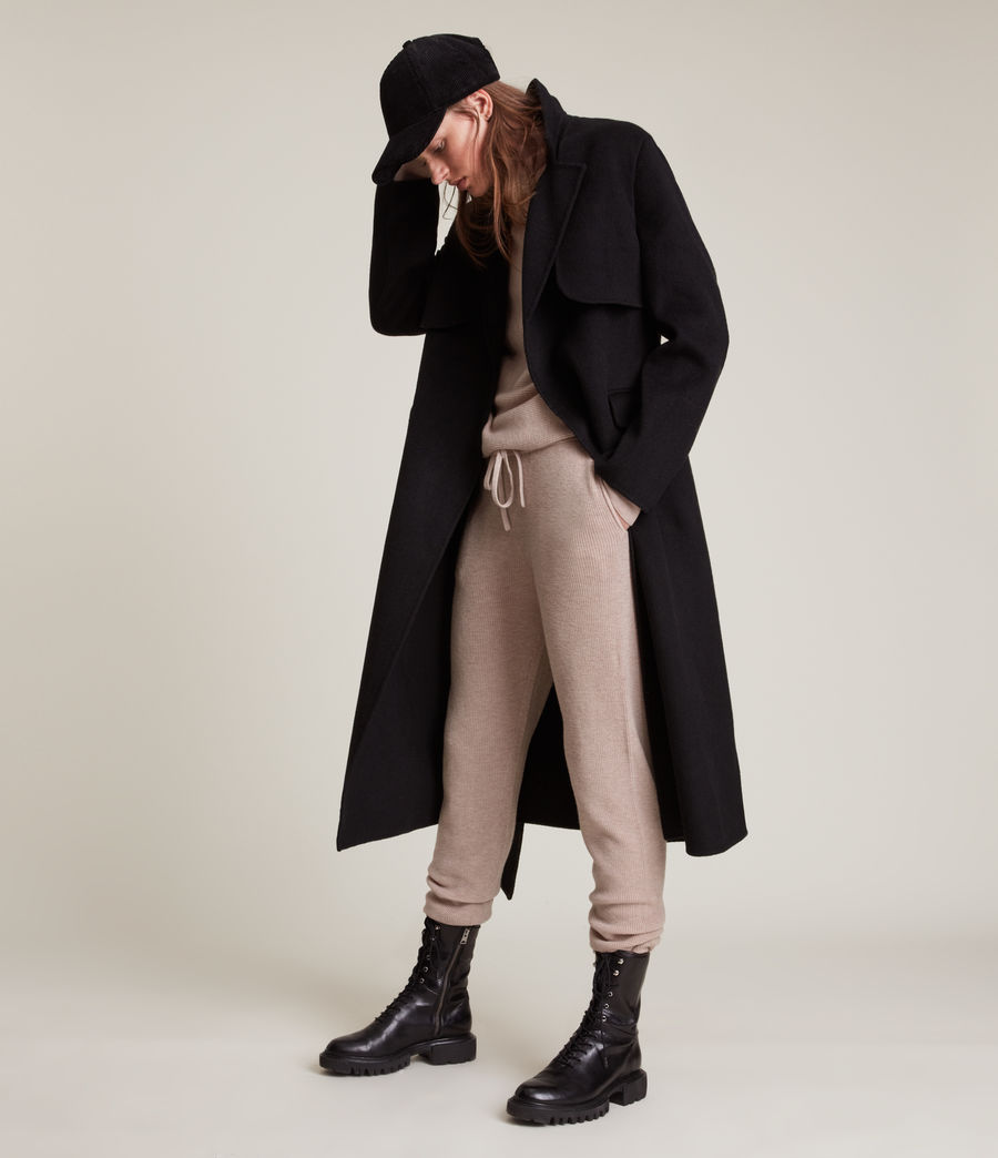Women's Ridley Cashmere-Wool Blend Jumper (pashmina_pink) - Image 6