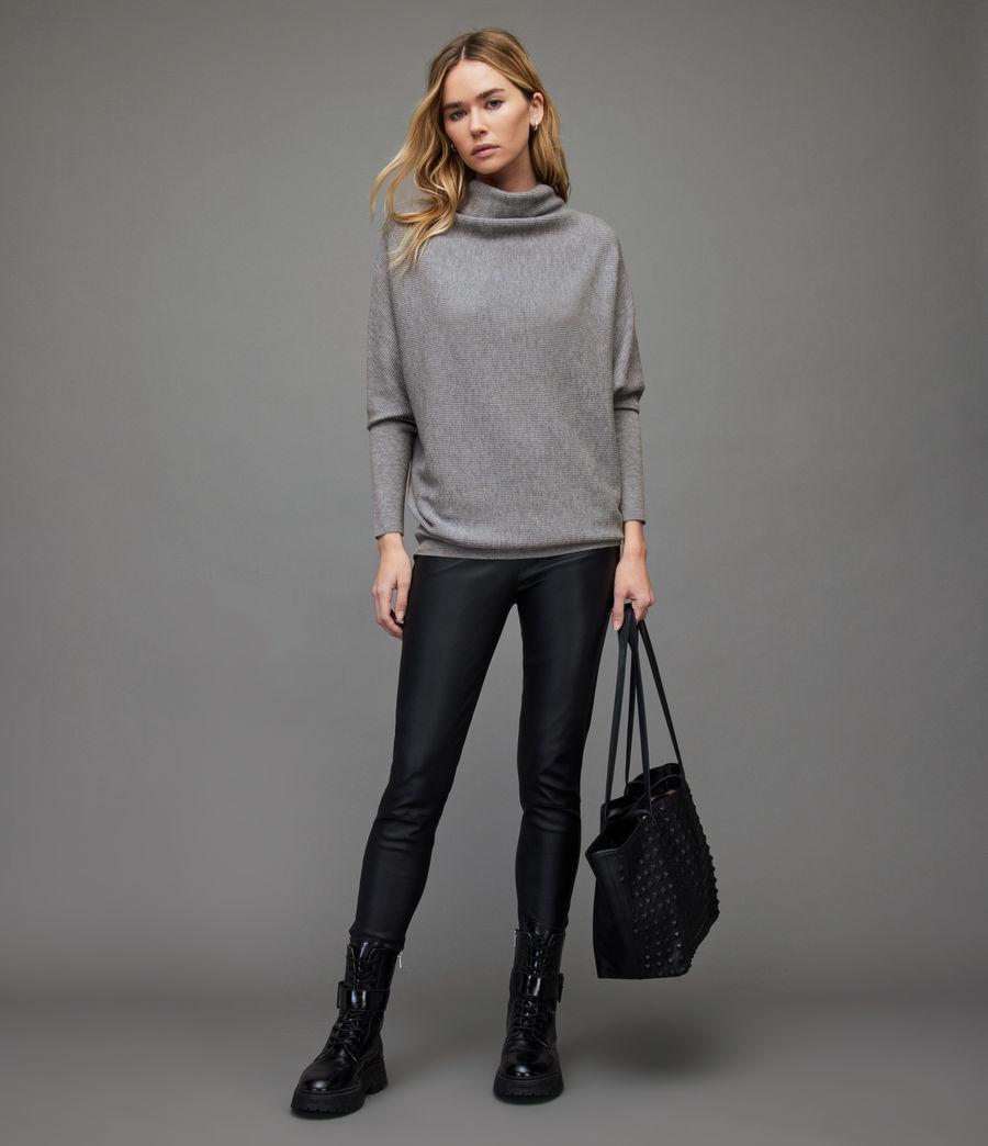Women's Ridley Wool-Cashmere Blend Jumper (thunder_grey) - Image 3
