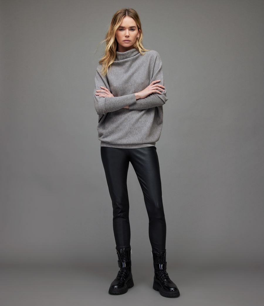 Women's Ridley Wool-Cashmere Blend Jumper (thunder_grey) - Image 4
