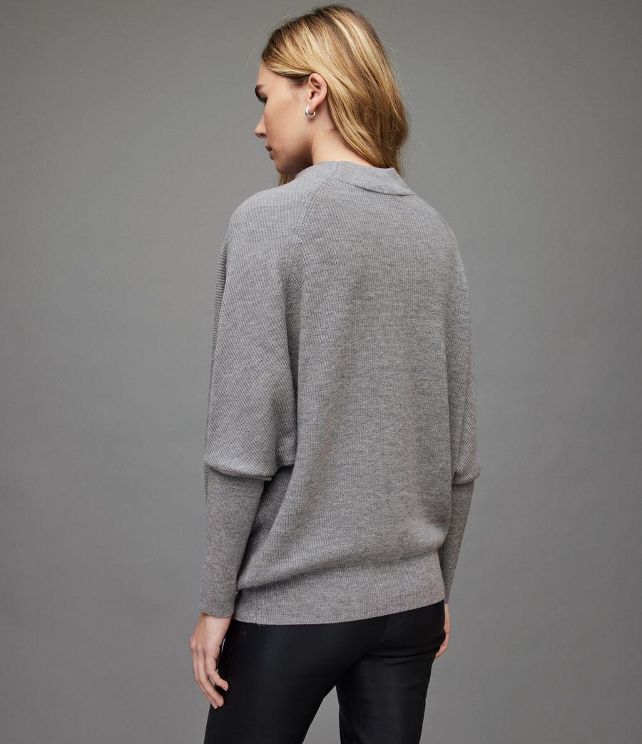 Women's Ridley Wool-Cashmere Blend Jumper (thunder_grey) - Image 5