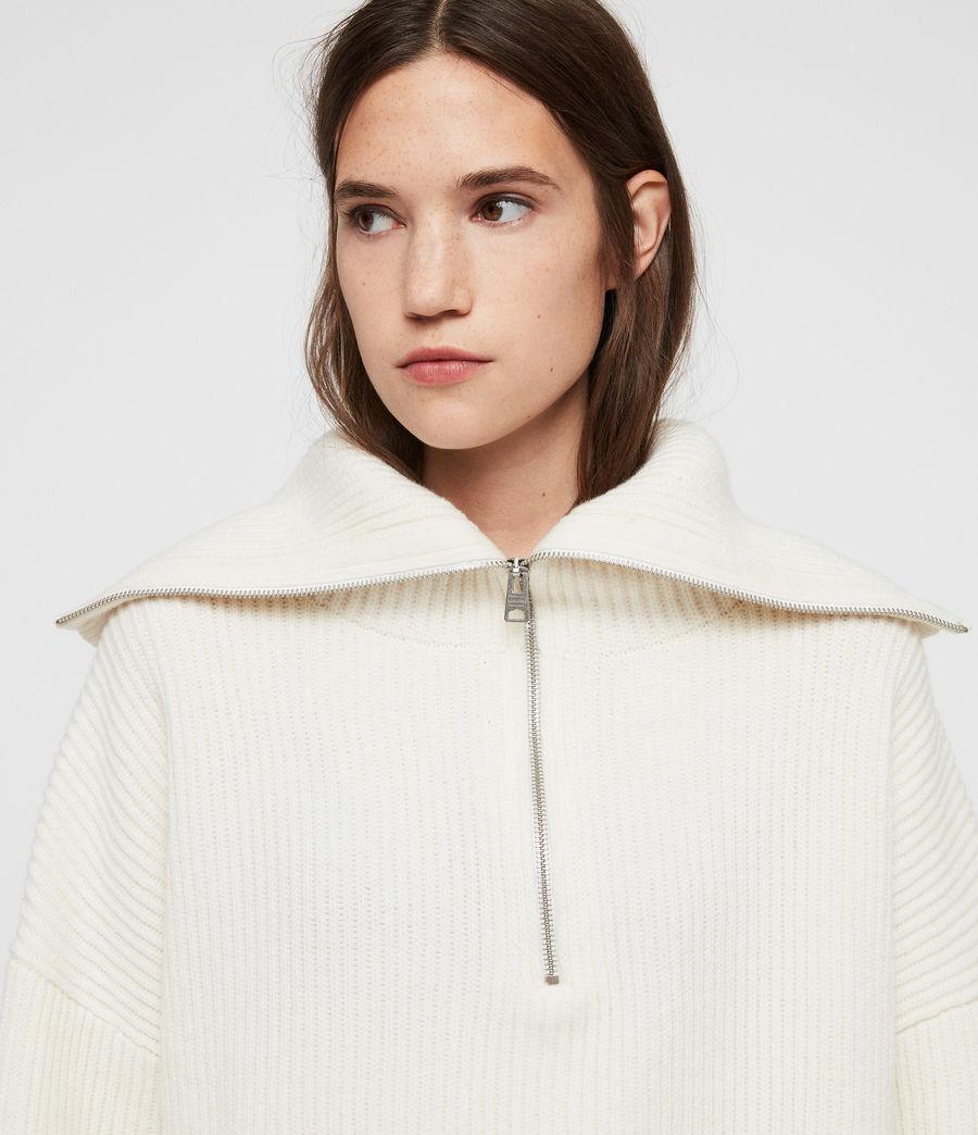 Mujer Jersey de Cuello Alto Ami (chalk_white) - Image 2