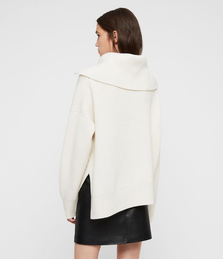 Mujer Jersey de Cuello Alto Ami (chalk_white) - Image 5