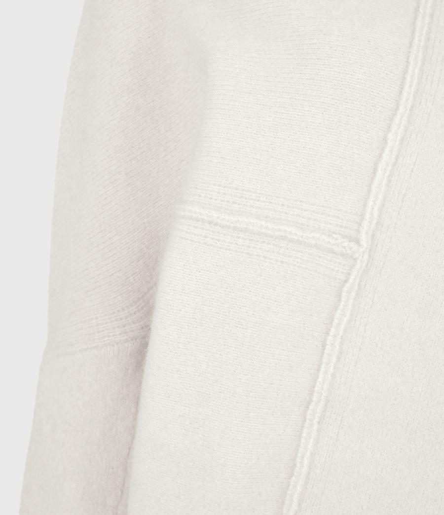 Womens Lock Roll Neck Sweater (alabaster_white) - Image 6