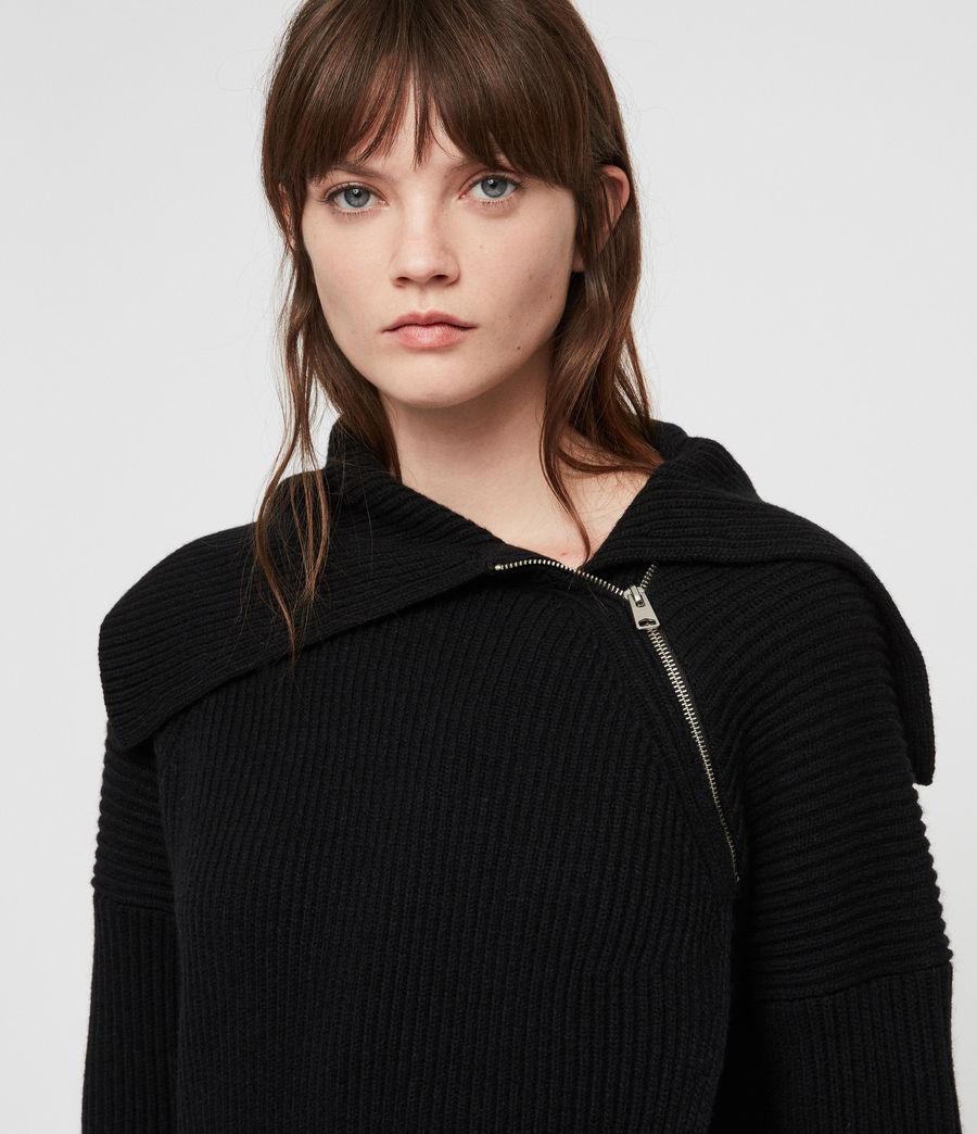 Women's Tallis Cardigan (black) - Image 2