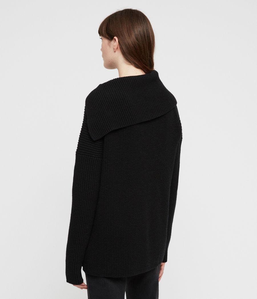 Women's Tallis Cardigan (black) - Image 5