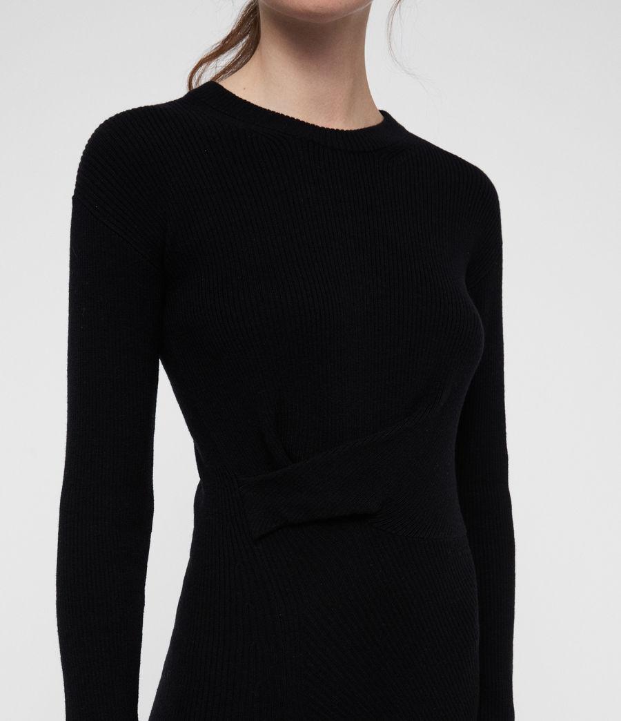 Womens Krista Dress (black) - Image 2