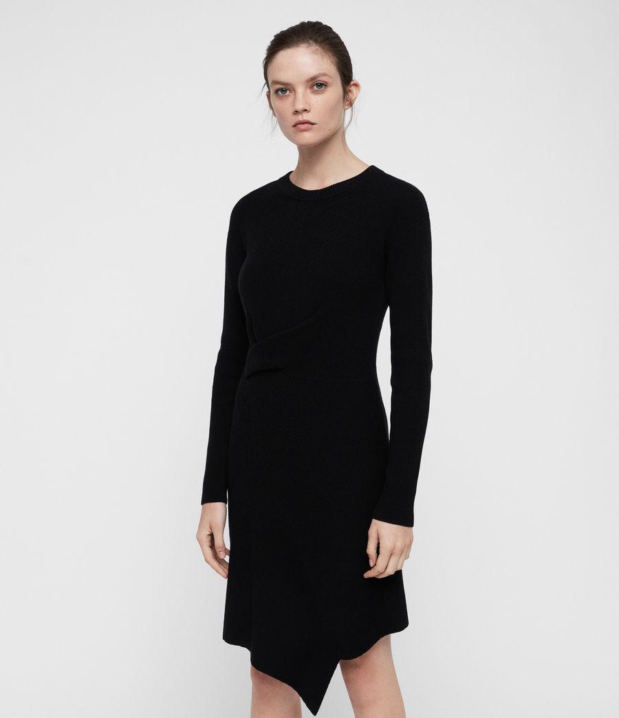 Womens Krista Dress (black) - Image 3