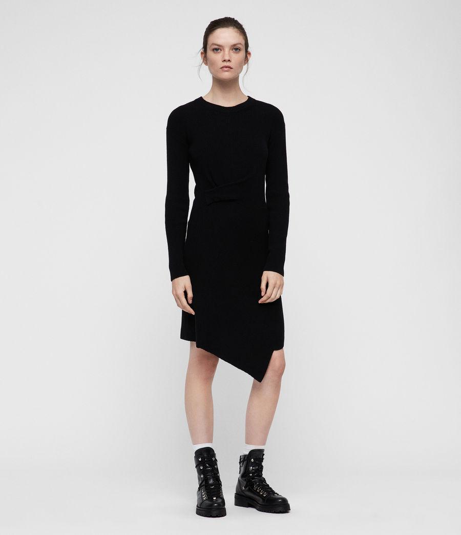 Womens Krista Dress (black) - Image 4