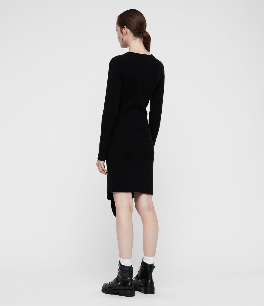 Womens Krista Dress (black) - Image 5