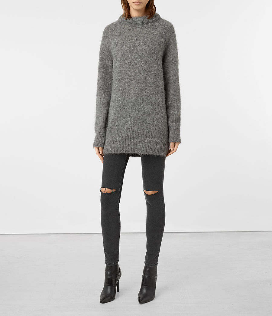 Womens Quant Sweater (light_grey) - Image 1