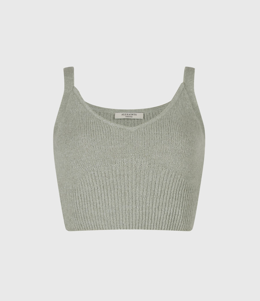 Damen Leanne Crop Top (green_bay) - Image 2