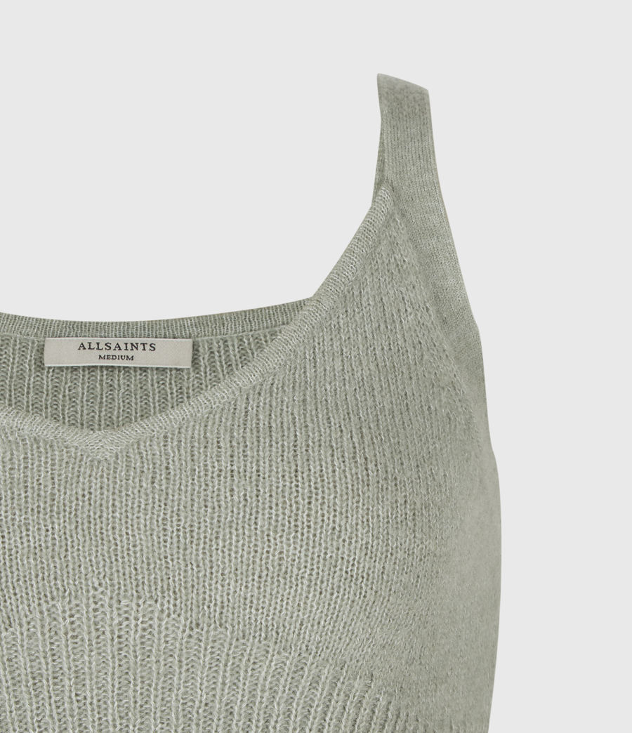 Damen Leanne Crop Top (green_bay) - Image 5