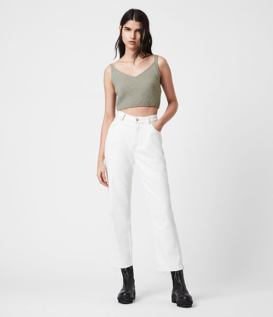 Damen Leanne Crop Top (green_bay) - Image 6