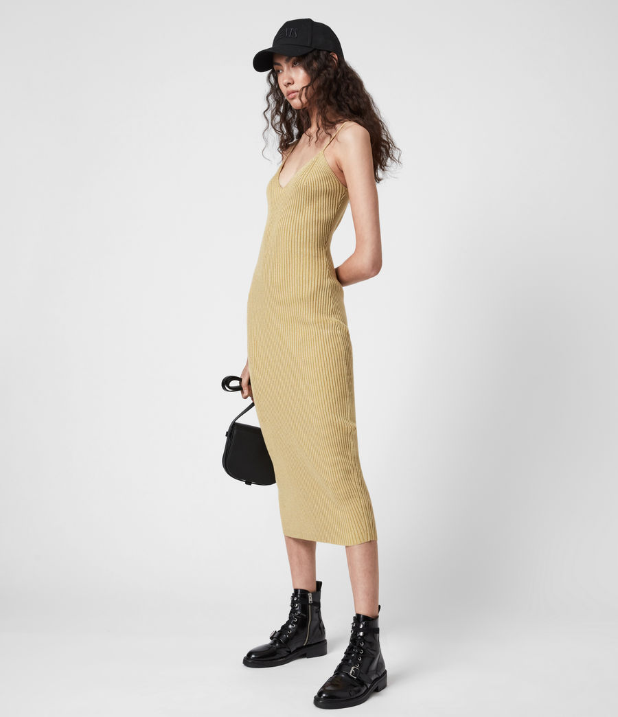 Women's Lexi Dress (gold) - Image 1