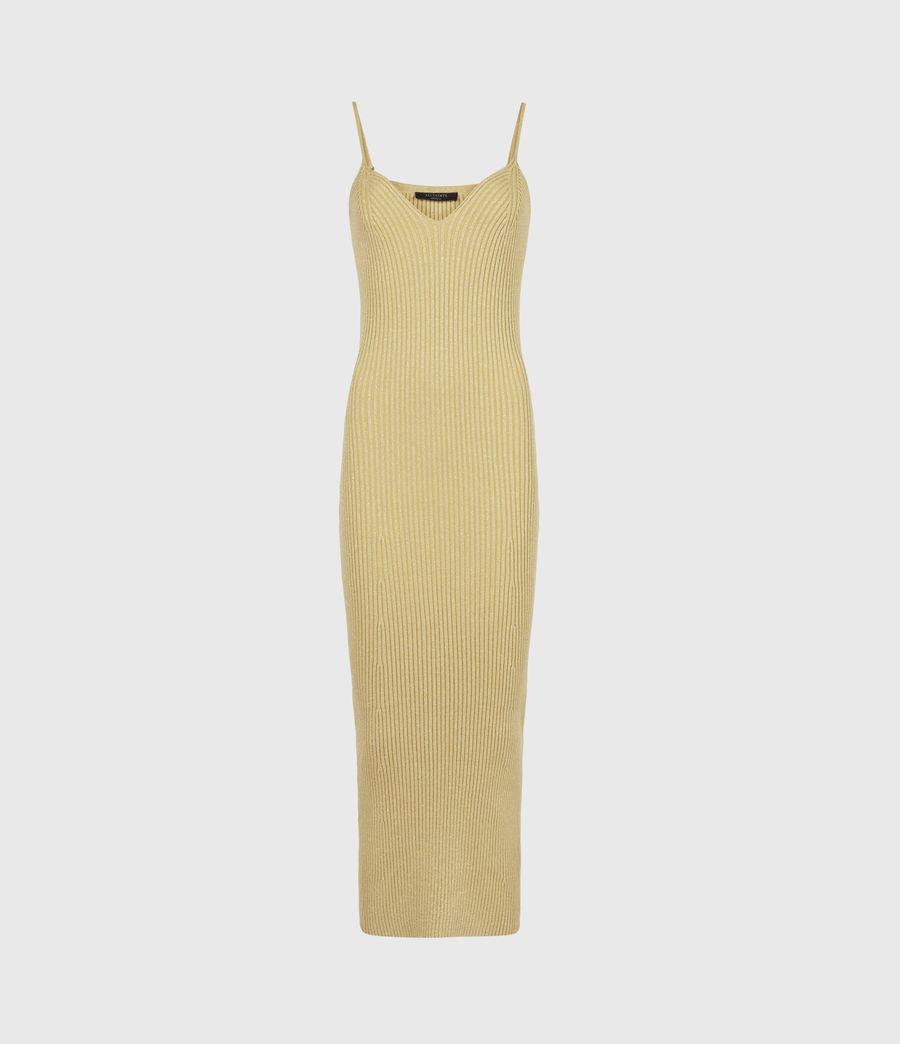 Women's Lexi Dress (gold) - Image 2