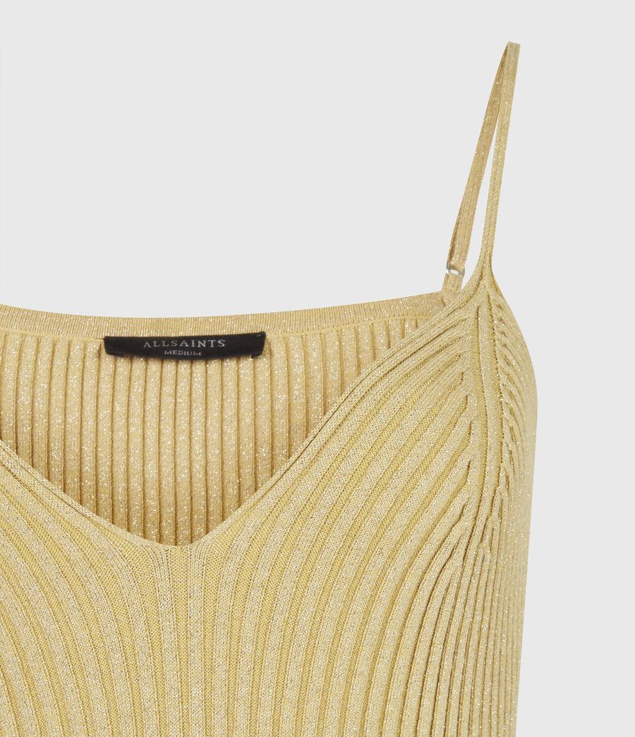 Women's Lexi Dress (gold) - Image 5