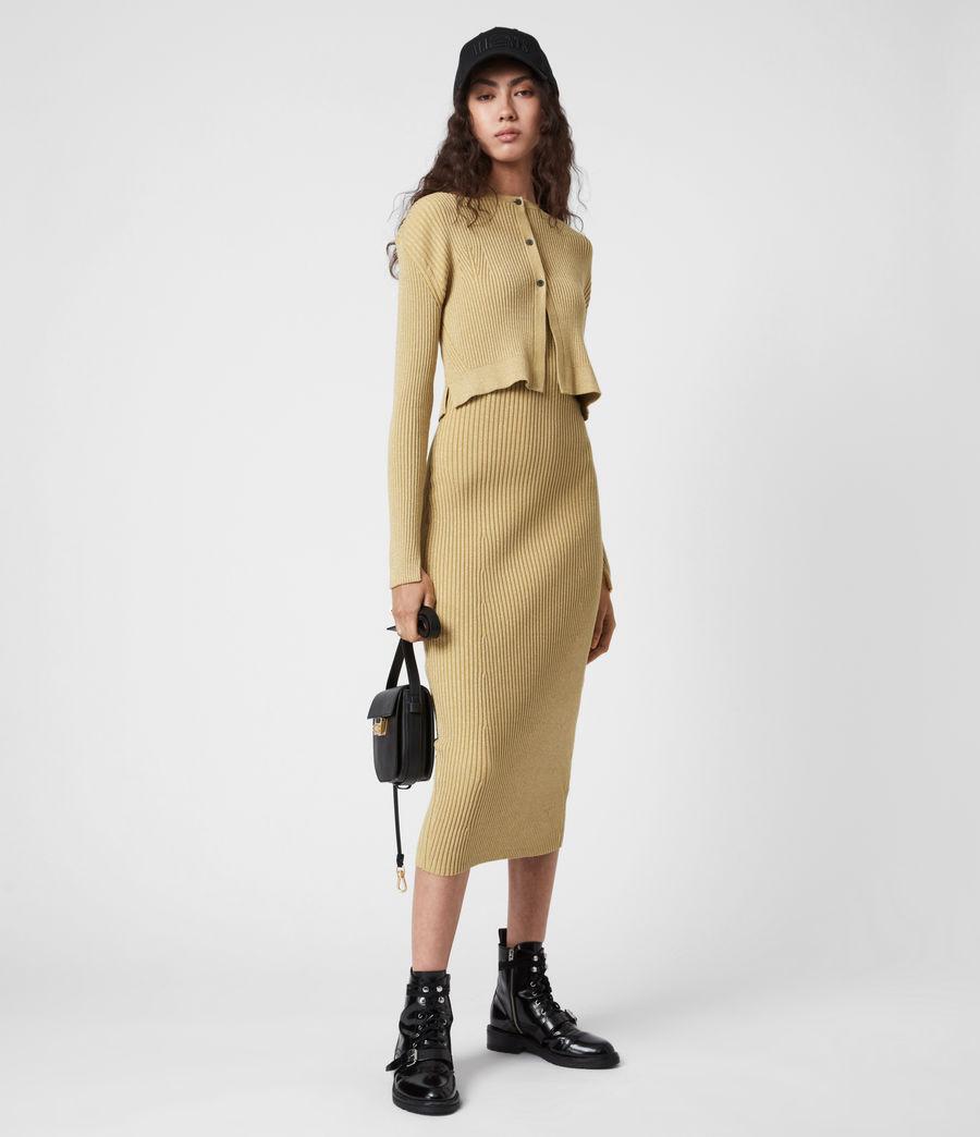 Women's Lexi Dress (gold) - Image 6