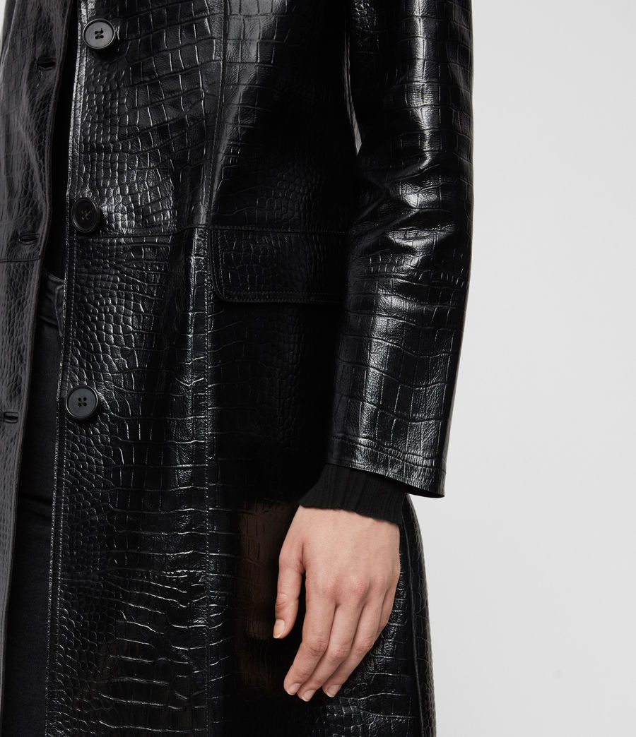 Damen Ali Mantel (black) - Image 5