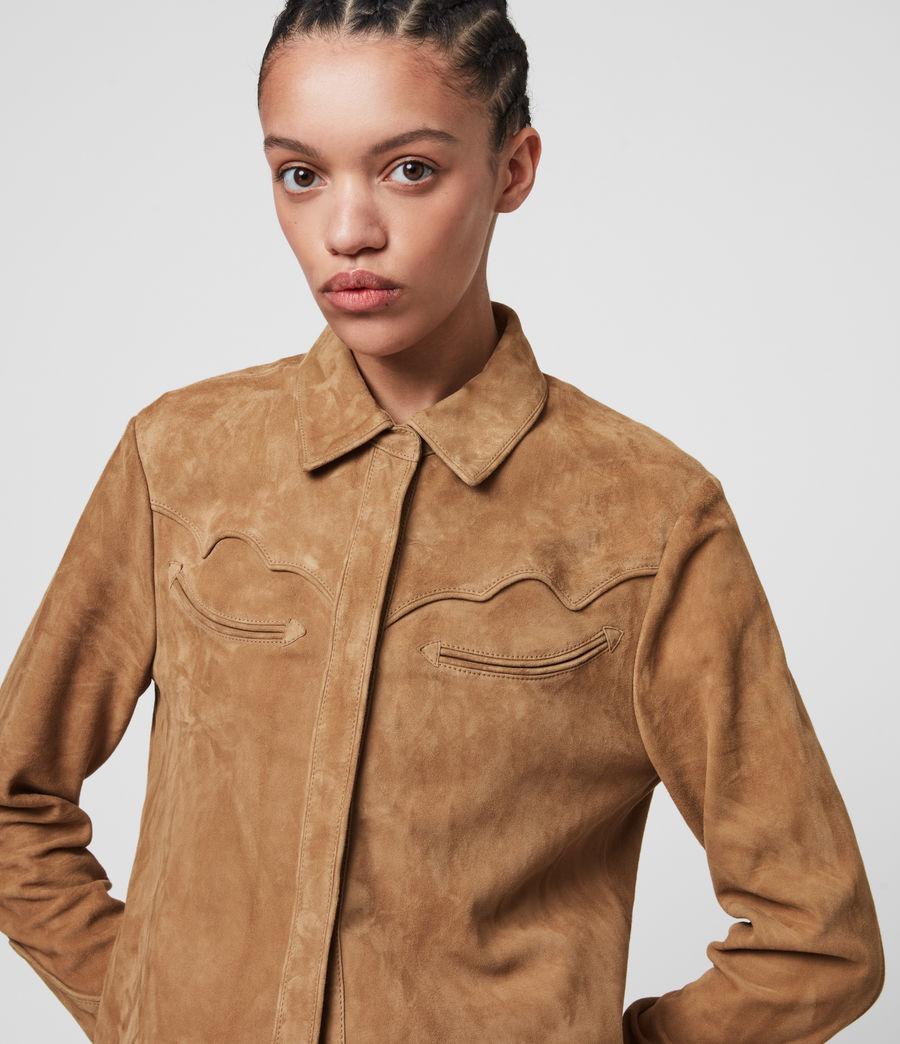 Mujer Camisa de Ante Oakley (tan_brown) - Image 2