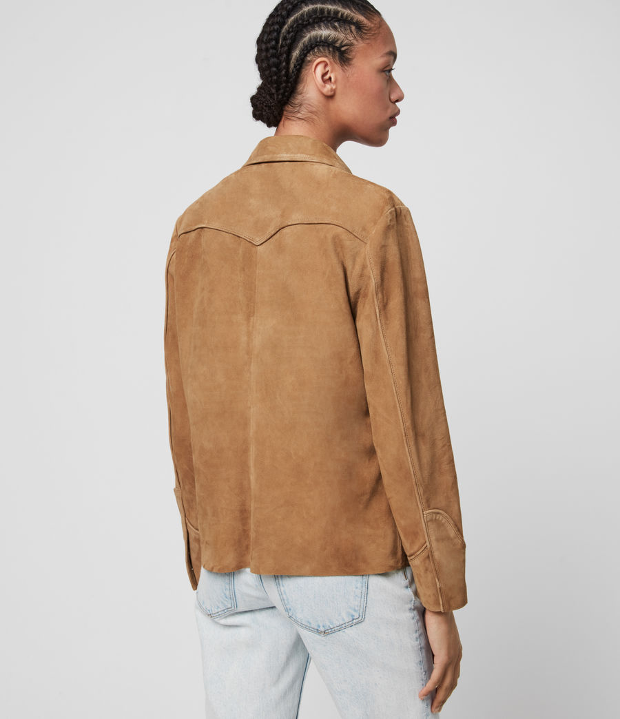 Mujer Camisa de Ante Oakley (tan_brown) - Image 5