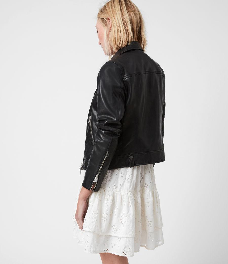 Damen Neko Bikerjacke (black) - Image 8