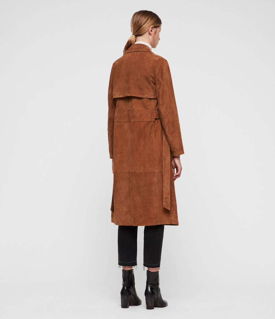 Donne Ember Trench Coat (cognac_brown) - Image 5