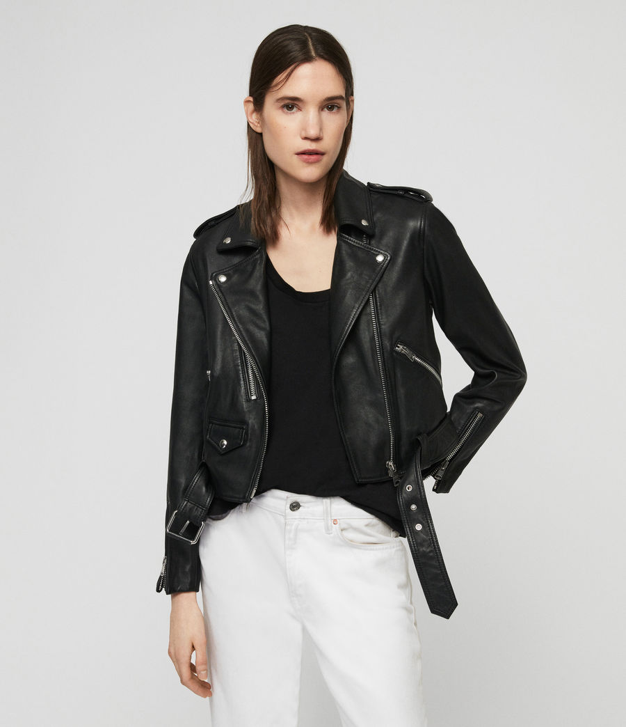 Lexi Leather Biker Jacket by Allsaints