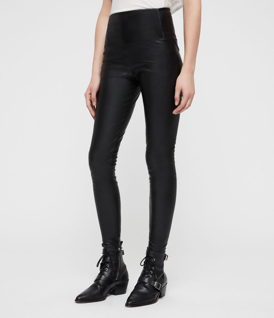 Womens Cora Leggings (black) - Image 3