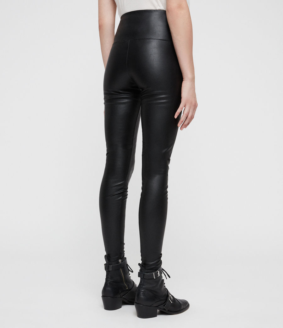 Womens Cora Leggings (black) - Image 4
