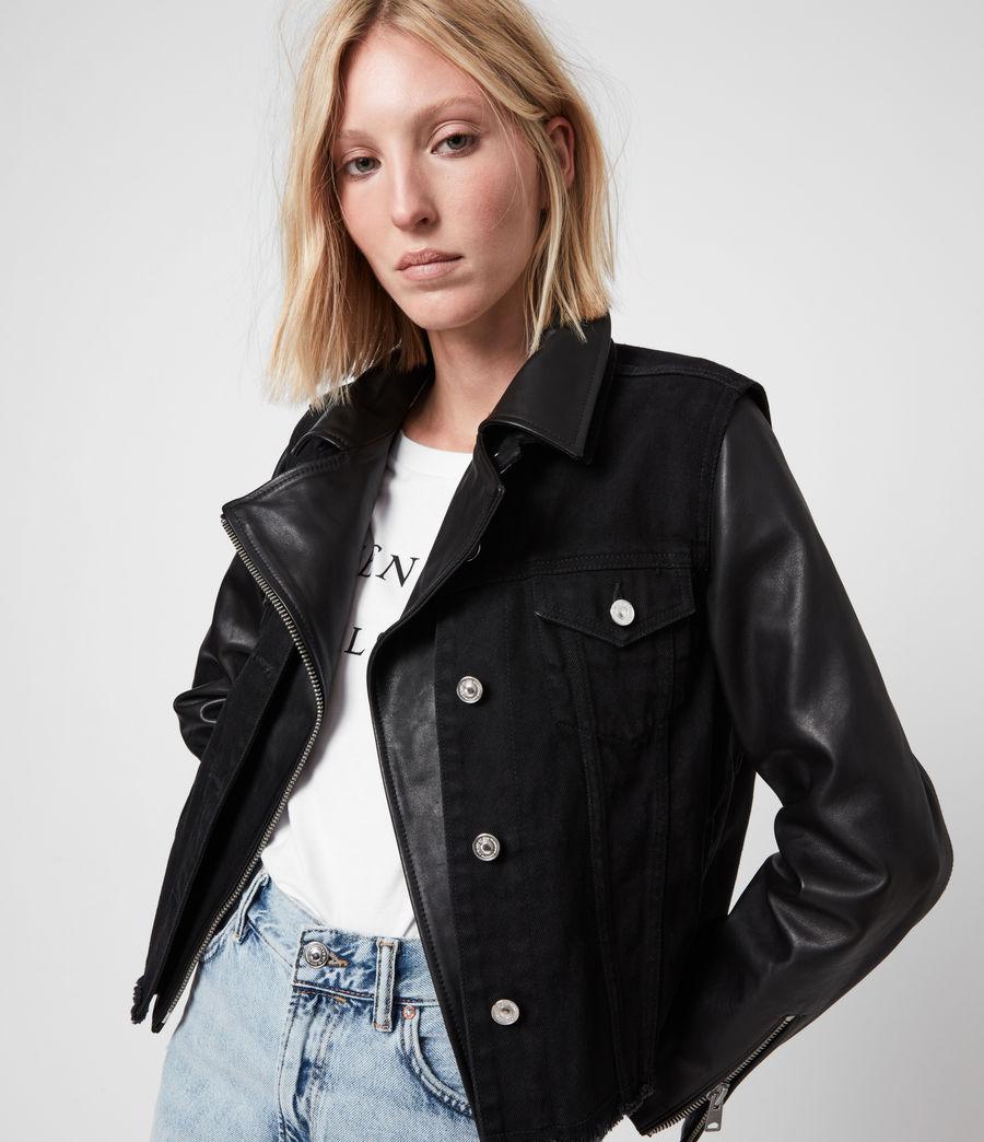 Damen Zayn Biker Jacket (black) - Image 4