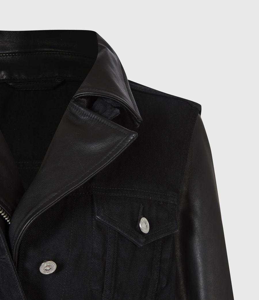 Damen Zayn Biker Jacket (black) - Image 5