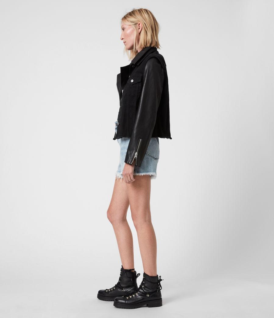 Damen Zayn Biker Jacket (black) - Image 6