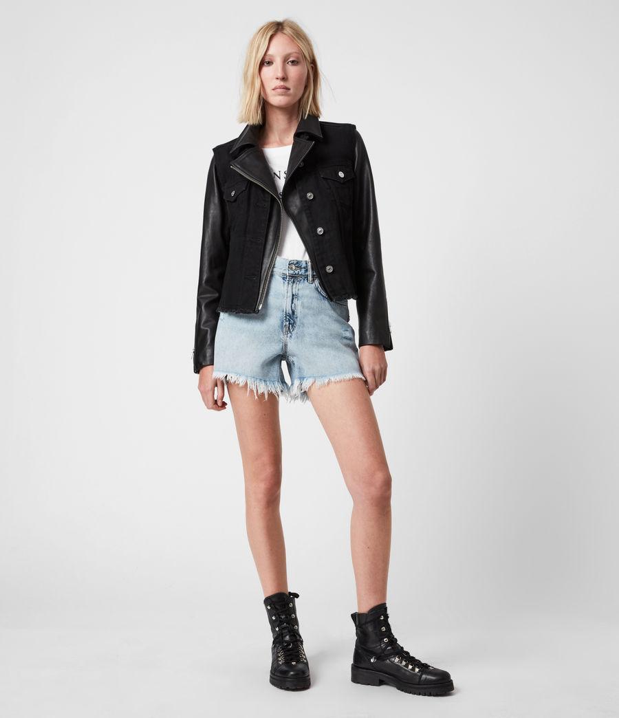 Damen Zayn Biker Jacket (black) - Image 7