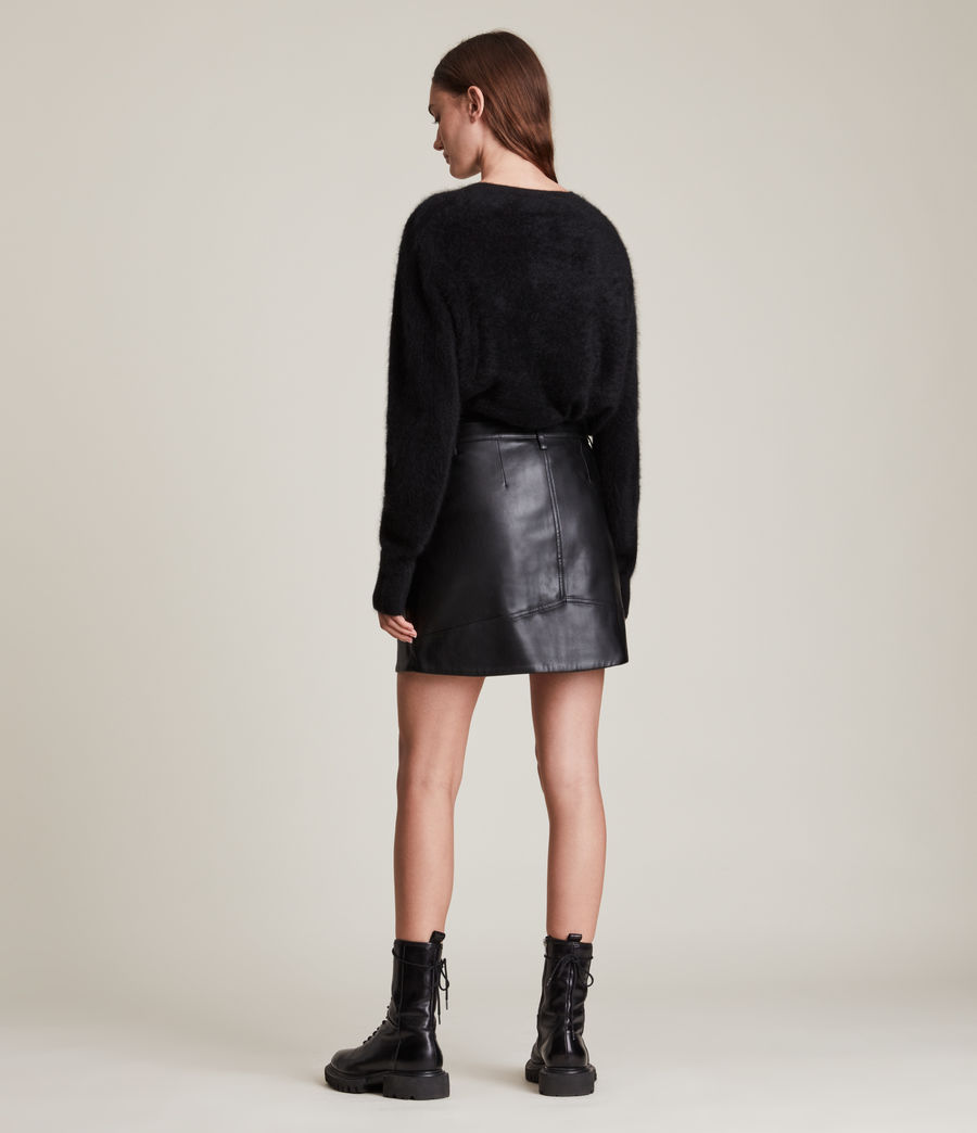 Women's Tarren Biker Skirt (black) - Image 4