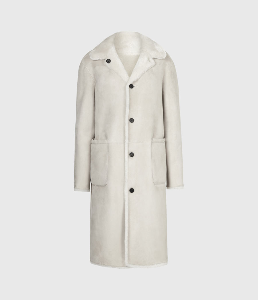 Women's Serra Shearling Coat (off_white) - Image 7