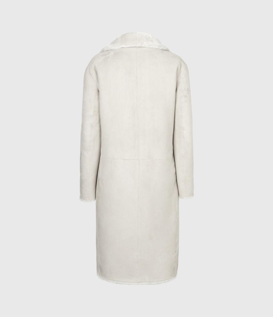Women's Serra Shearling Coat (off_white) - Image 8