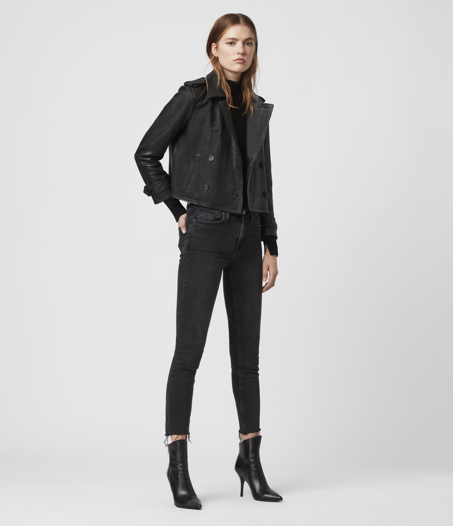Damen Trae Jacket (black) - Image 2