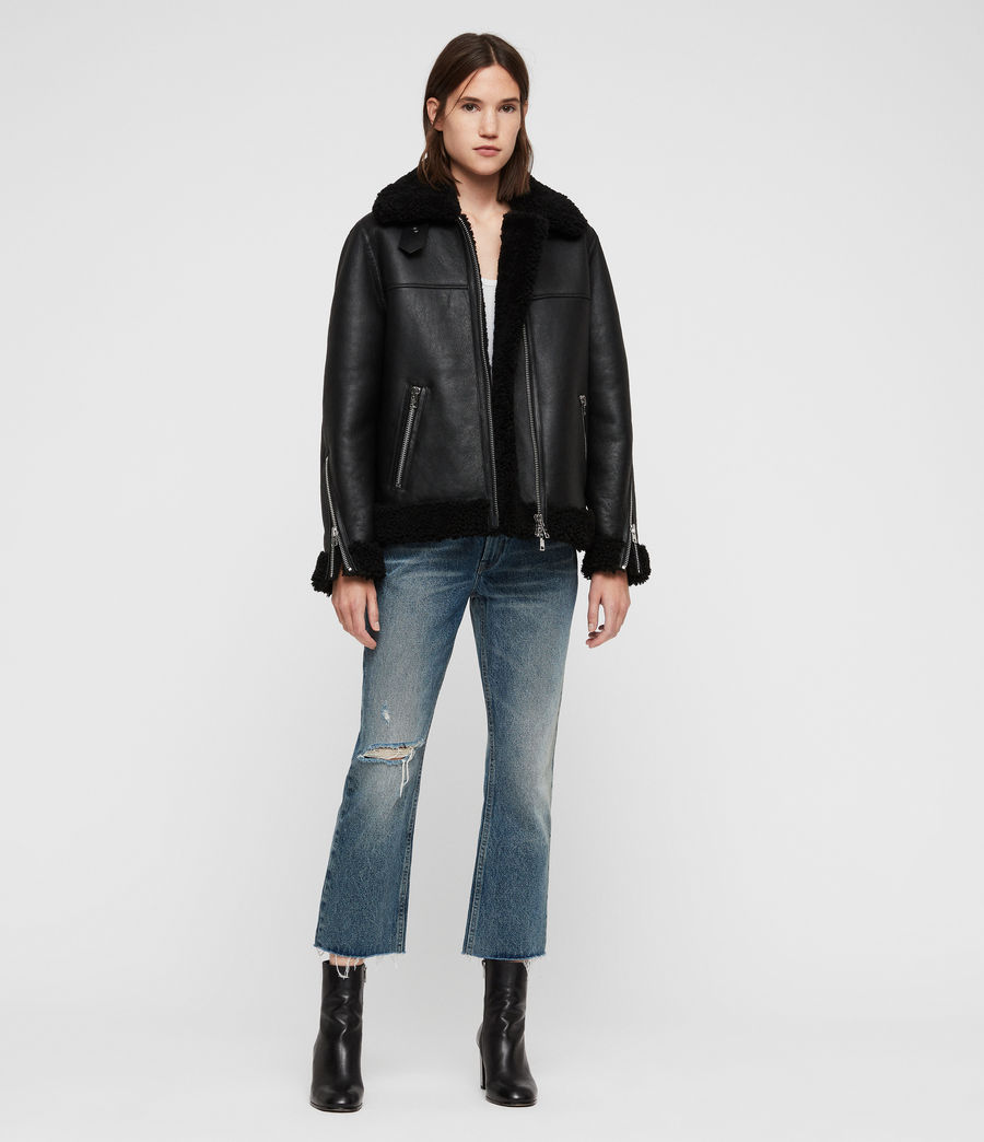 Donne Giacca Shearling Java (black) - Image 3