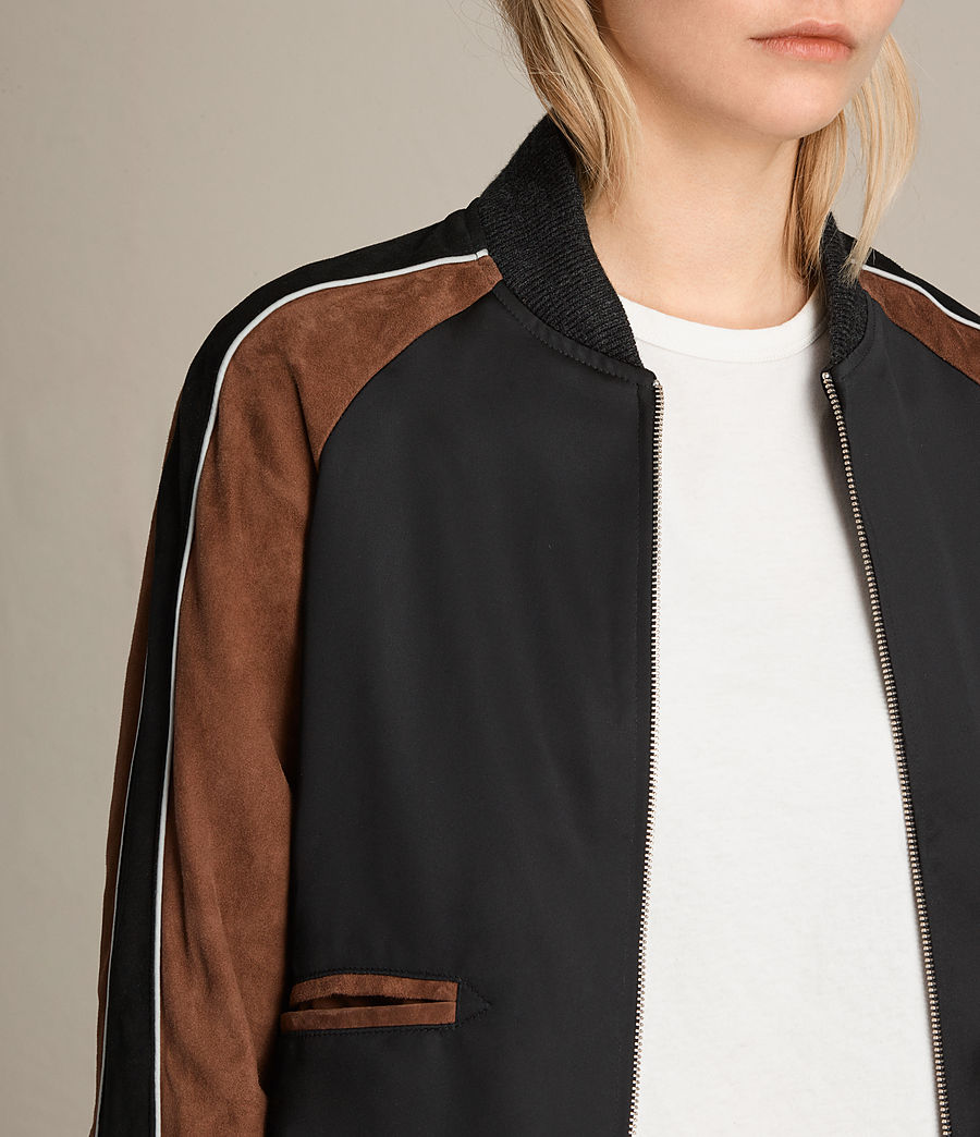 Femmes Bomber Atley (black_rust_red) - Image 2