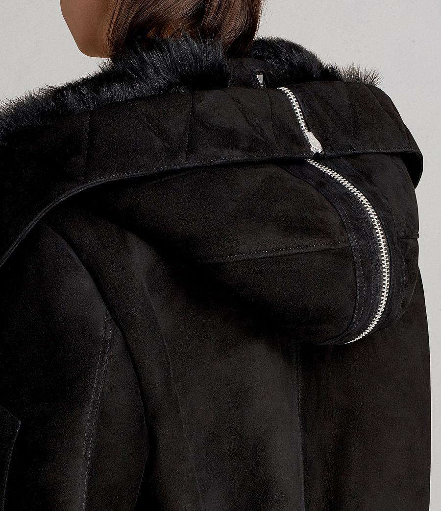 Damen Trux Bomberjacke (black) - Image 4