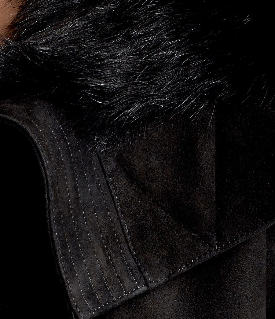 Damen Trux Bomberjacke (black) - Image 5