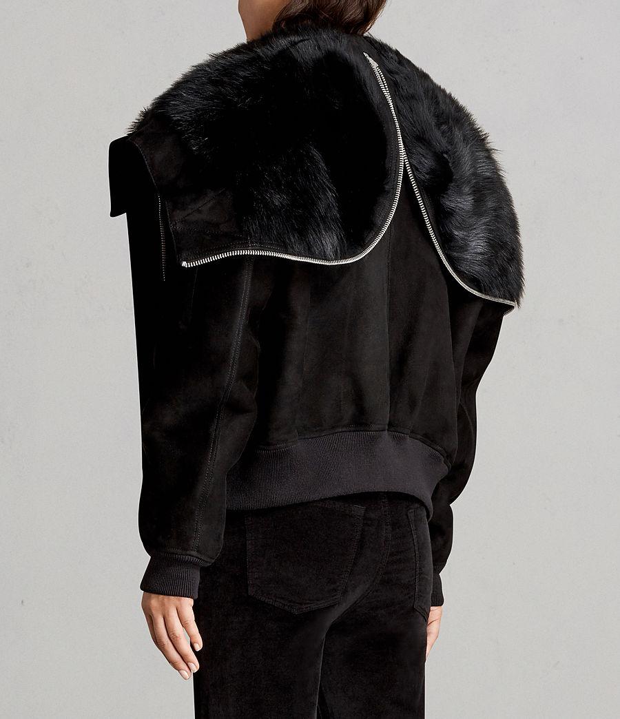 Damen Trux Bomberjacke (black) - Image 7
