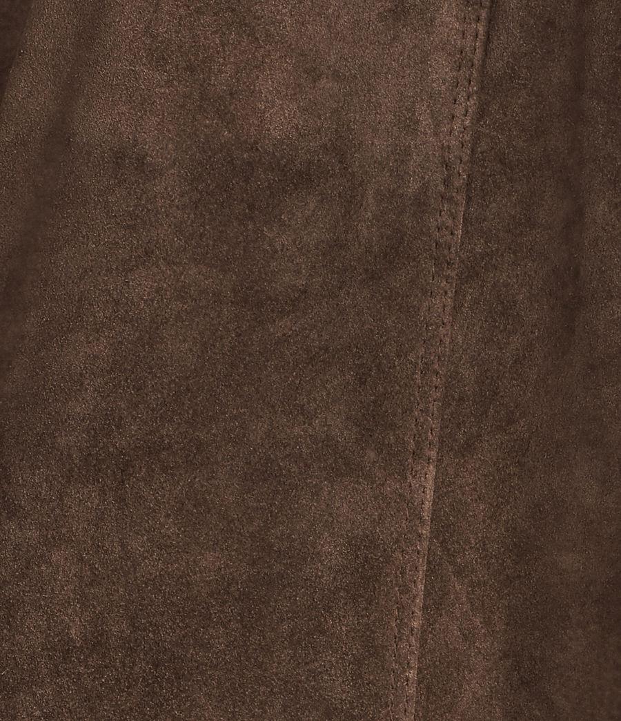 Mujer Blazer de ante Deebee (bitter_brown) - Image 7